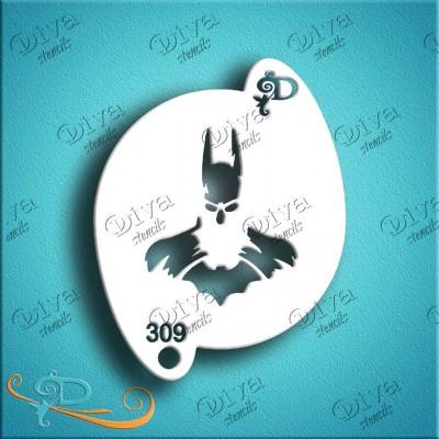 Pochoir Diva - Batman