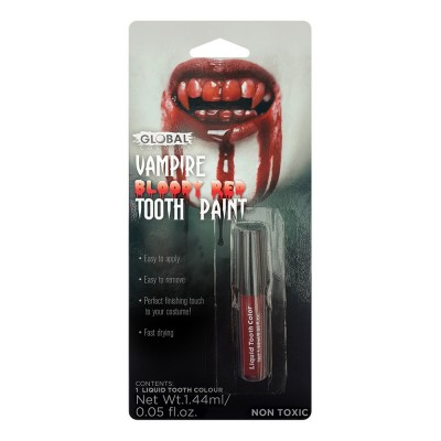 Peinture pour dents - rouge...
