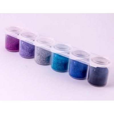 Kit paillettes - 6 couleurs...