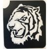77. Tête de tigre
