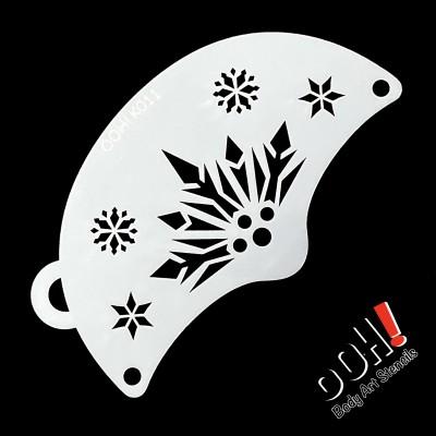 Ooh stencil - K11 Snowflake...