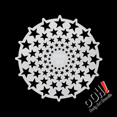 Ooh stencil - S05 Stars