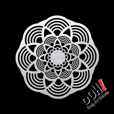 Ooh stencil - S06 Mandala