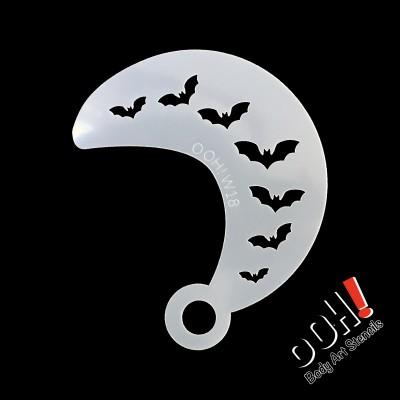 Ooh stencil - W18 Bat